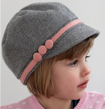 Top your handsome little boy s head with this quilted hat with sherpa  lining  also from Baby Melons . It s sure to keep him snuggly warm through  the winter! 135f021647f