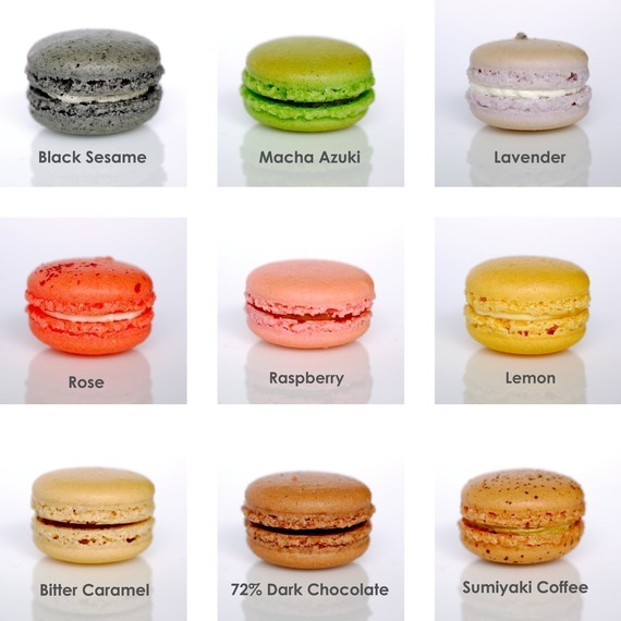 ... these gorgeous french macaroons from sparkles kitchen suck up now lol